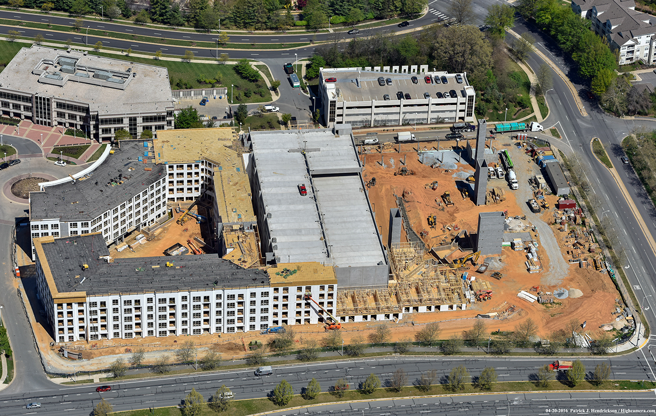 Camden Shady Grove construction progress. Image by Duane Canter.