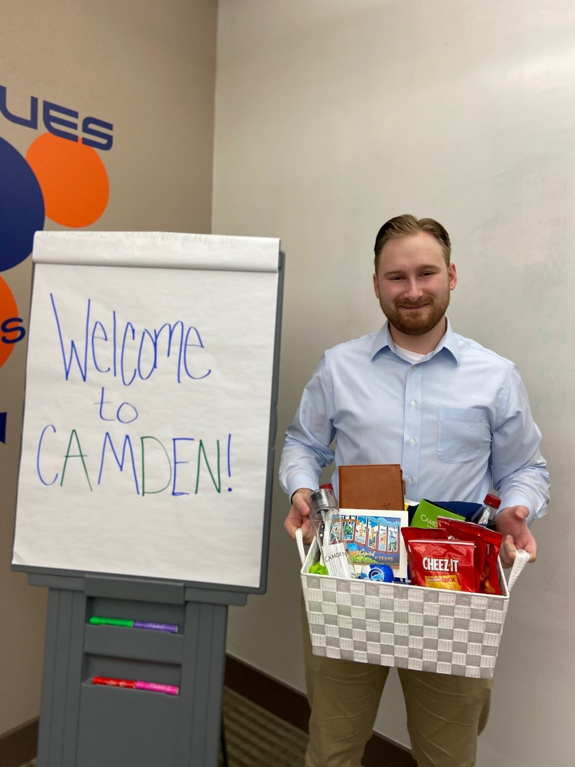 Intern Welcome Basket