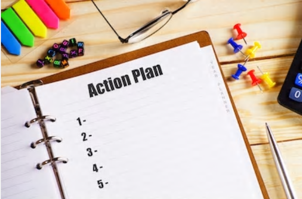 Blank Action Plan List