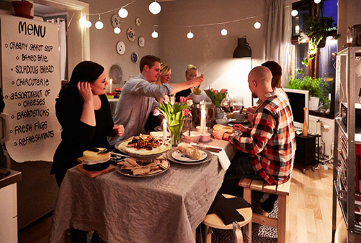 5 Steps To Host A Dinner Party In A Small Space Camdenliving Com