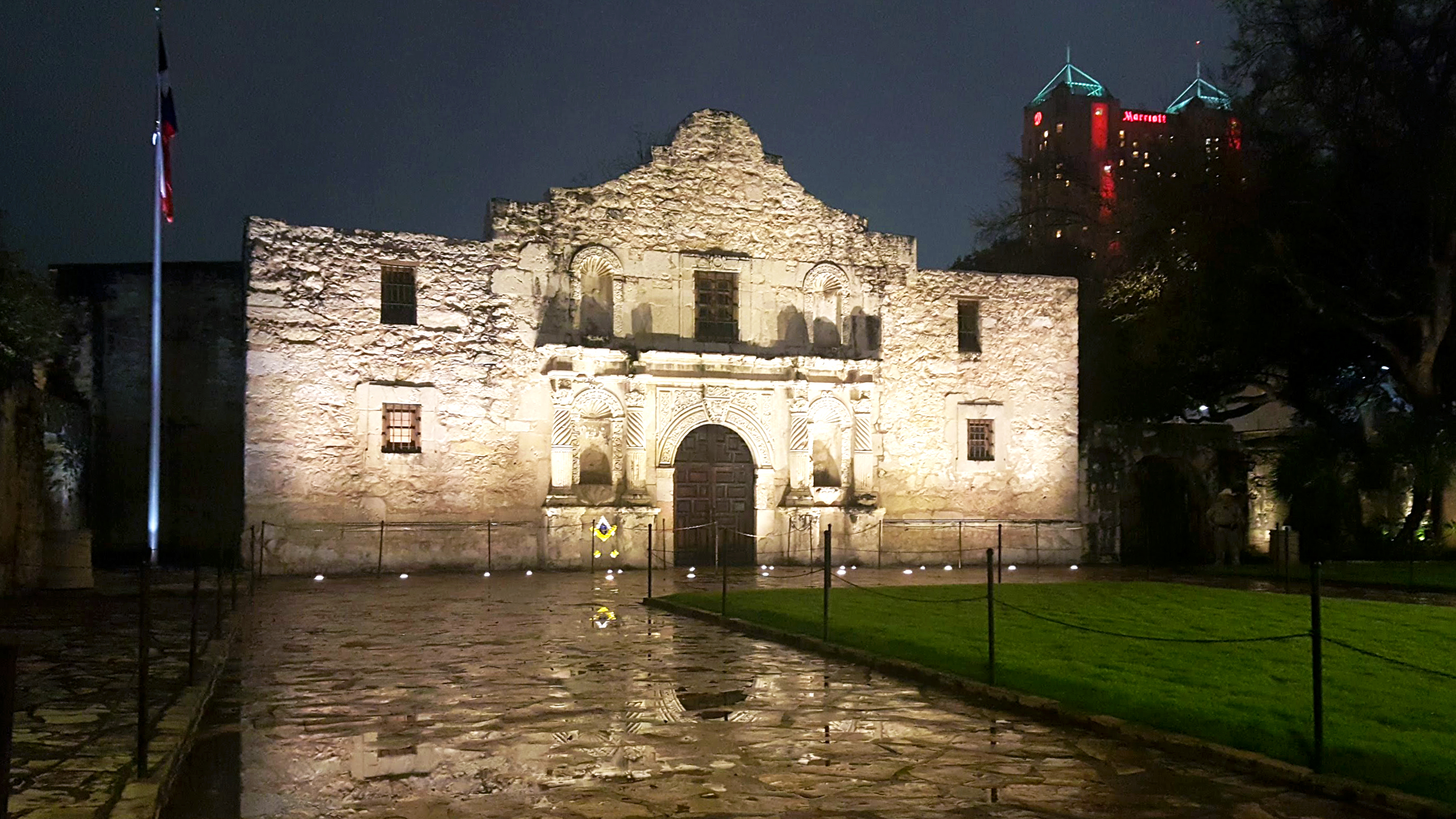 Remember The Alamo in San Antonio Texas.