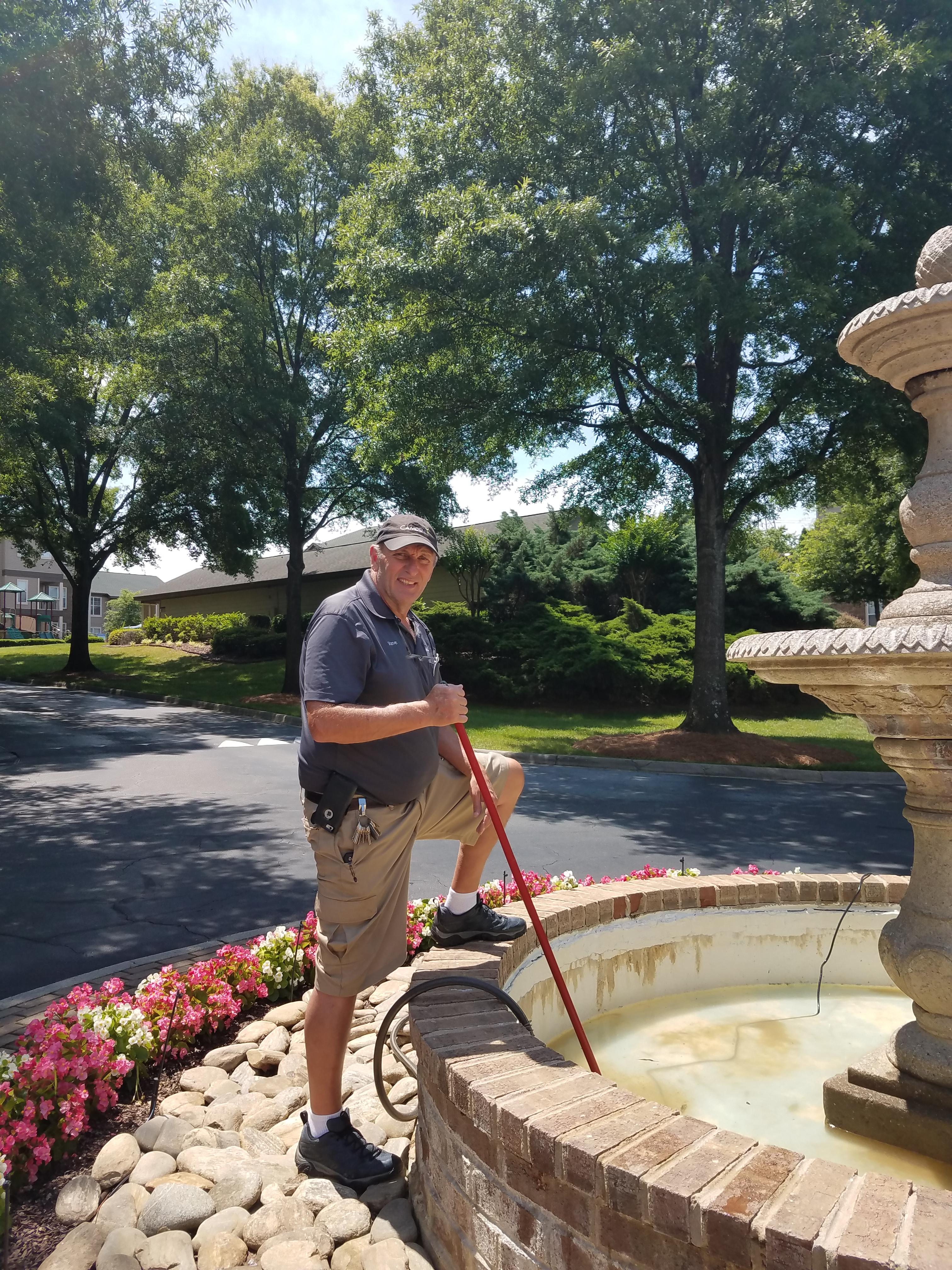Fountain Steve