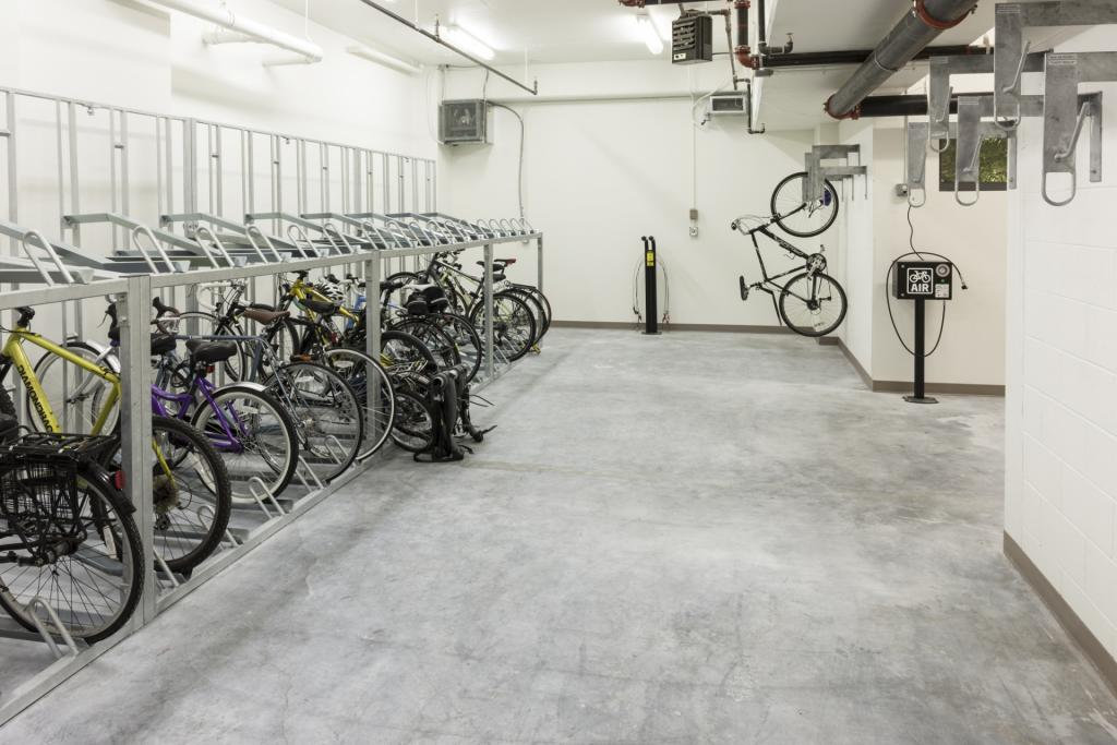 Bike storage at Camden NoMa