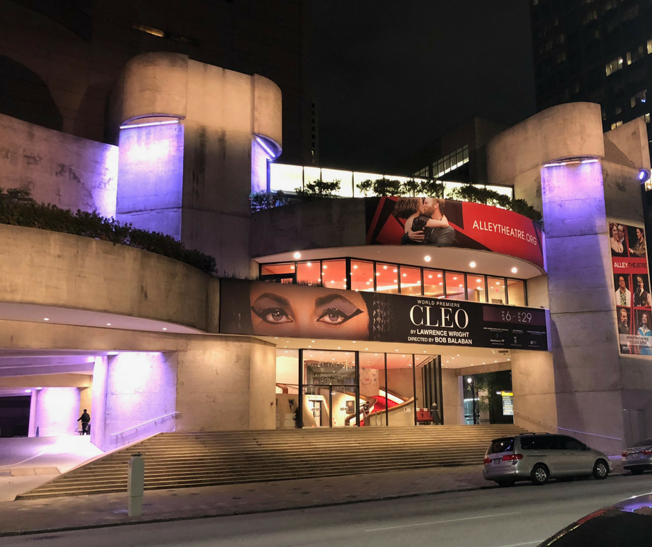 As a Camden resident, you will receive discounted tickets to the Alley Theater in Houston, Texas.