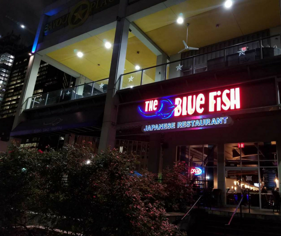 Downtown Houston Sushi Restaurants by Alley Theatre