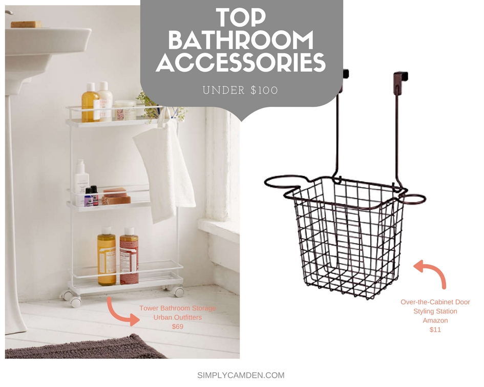 Bathroom storage accessories for apartment living all for Bathroom 94 percent