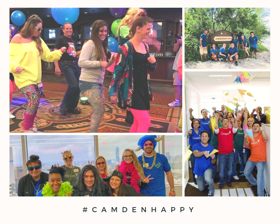 Camden Happy collage