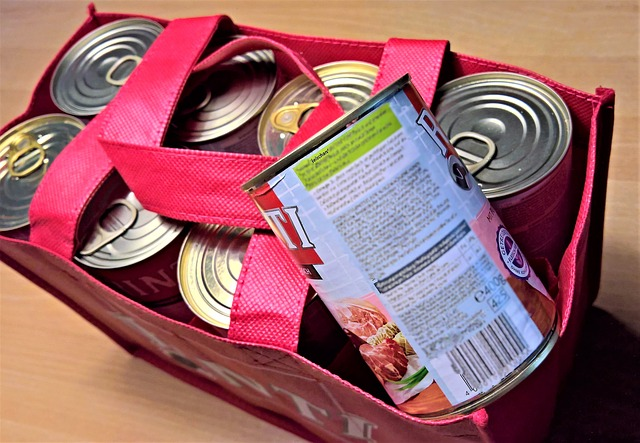 Donate extra cans to local food bank.