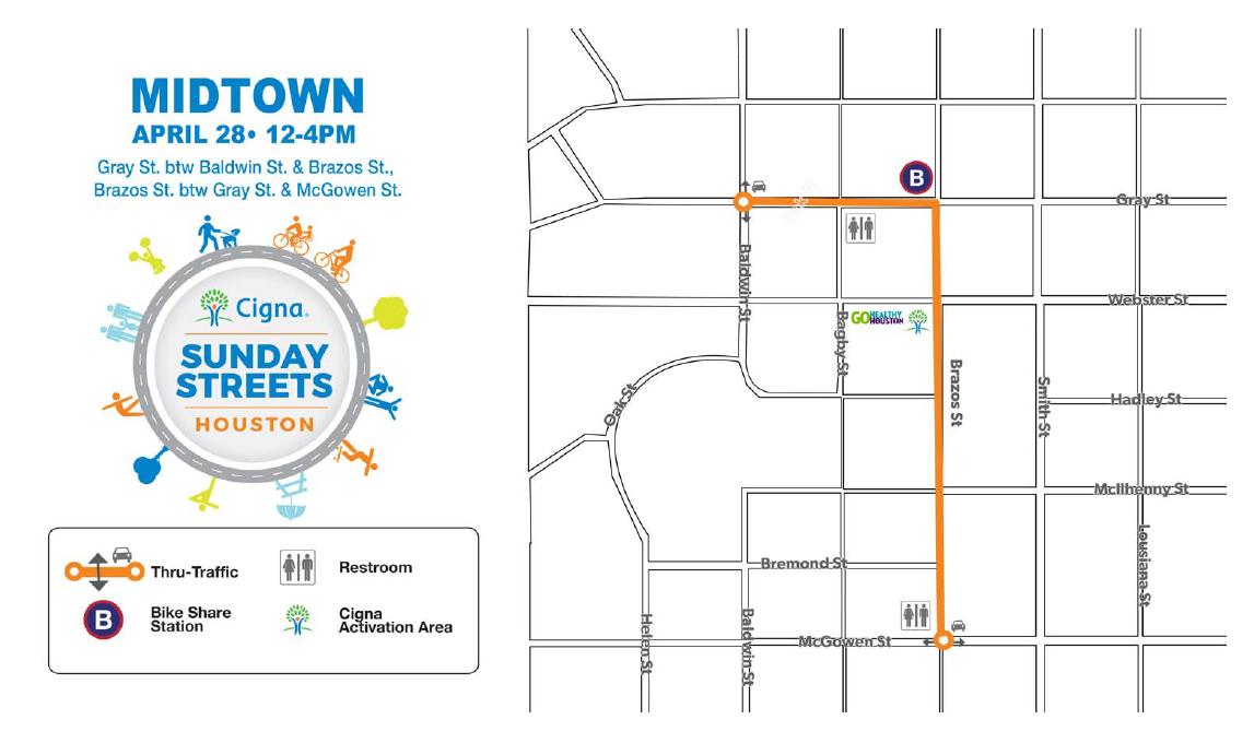 Map, Midtown, Walkable, Bikeable