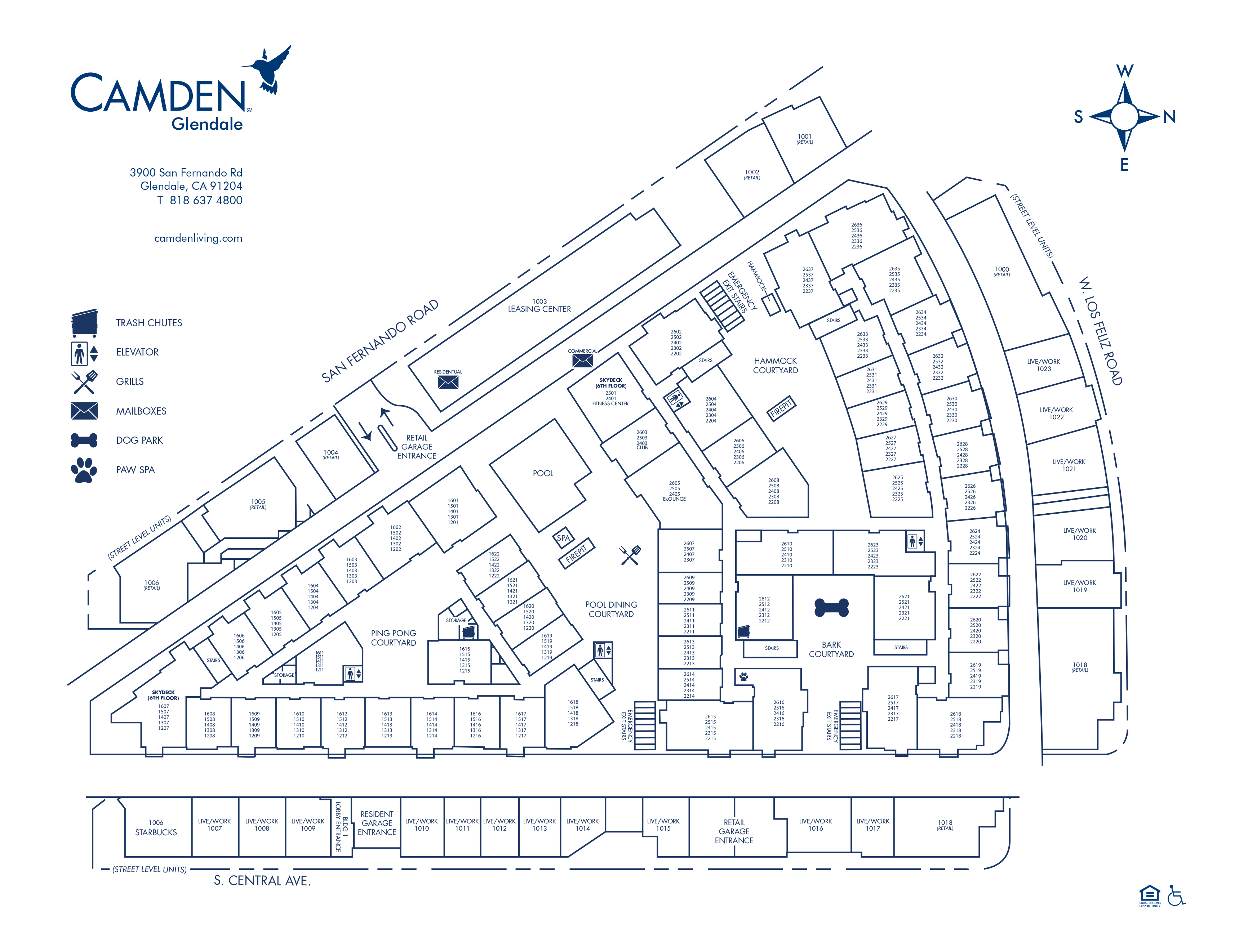 Apartments For Rent In Glendale Ca Camden Friend Description Ev Electrical Wiring Diagrams Schematics And Virtual Tour Site Plan