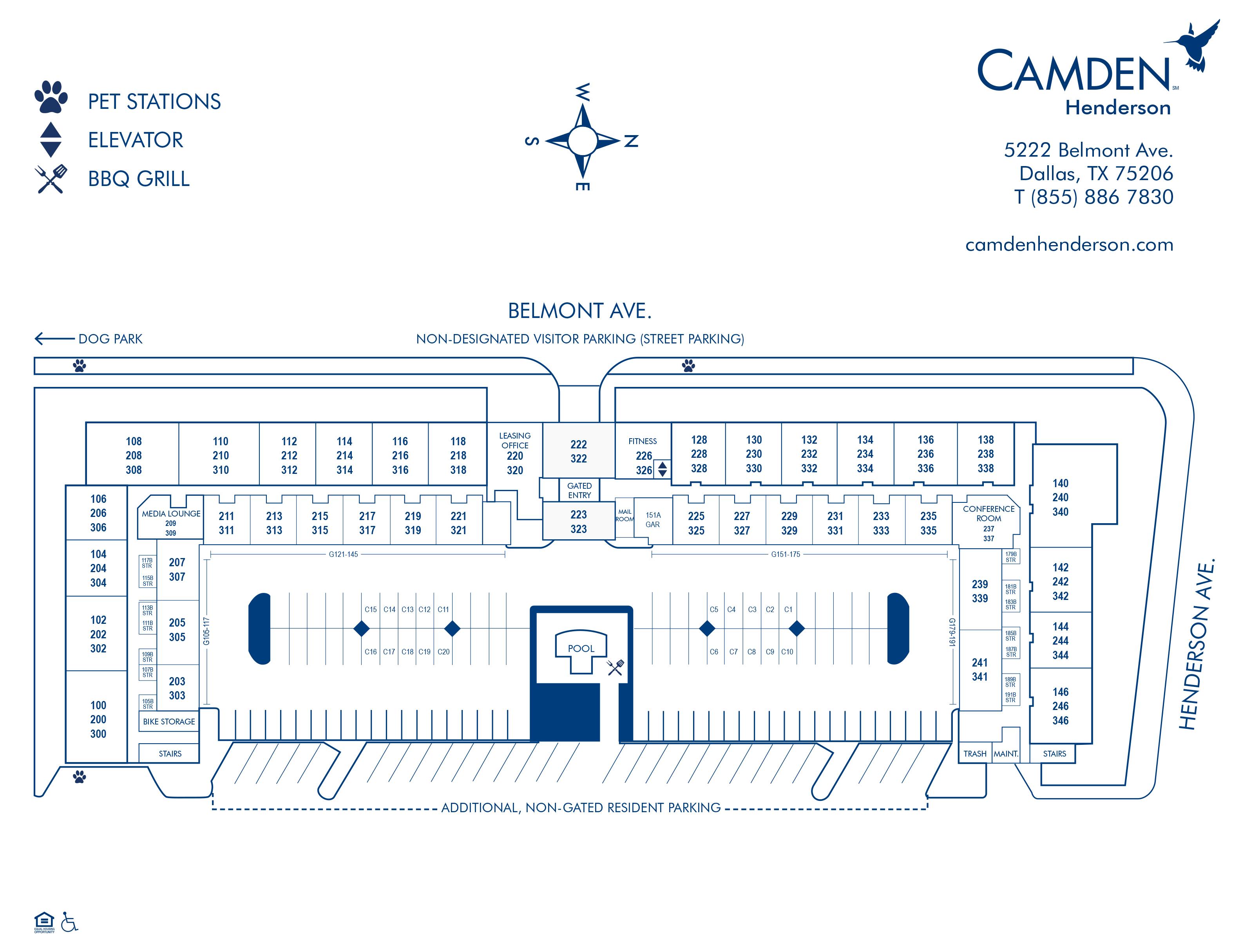Apartments For Rent In Dallas Tx Camden Henderson