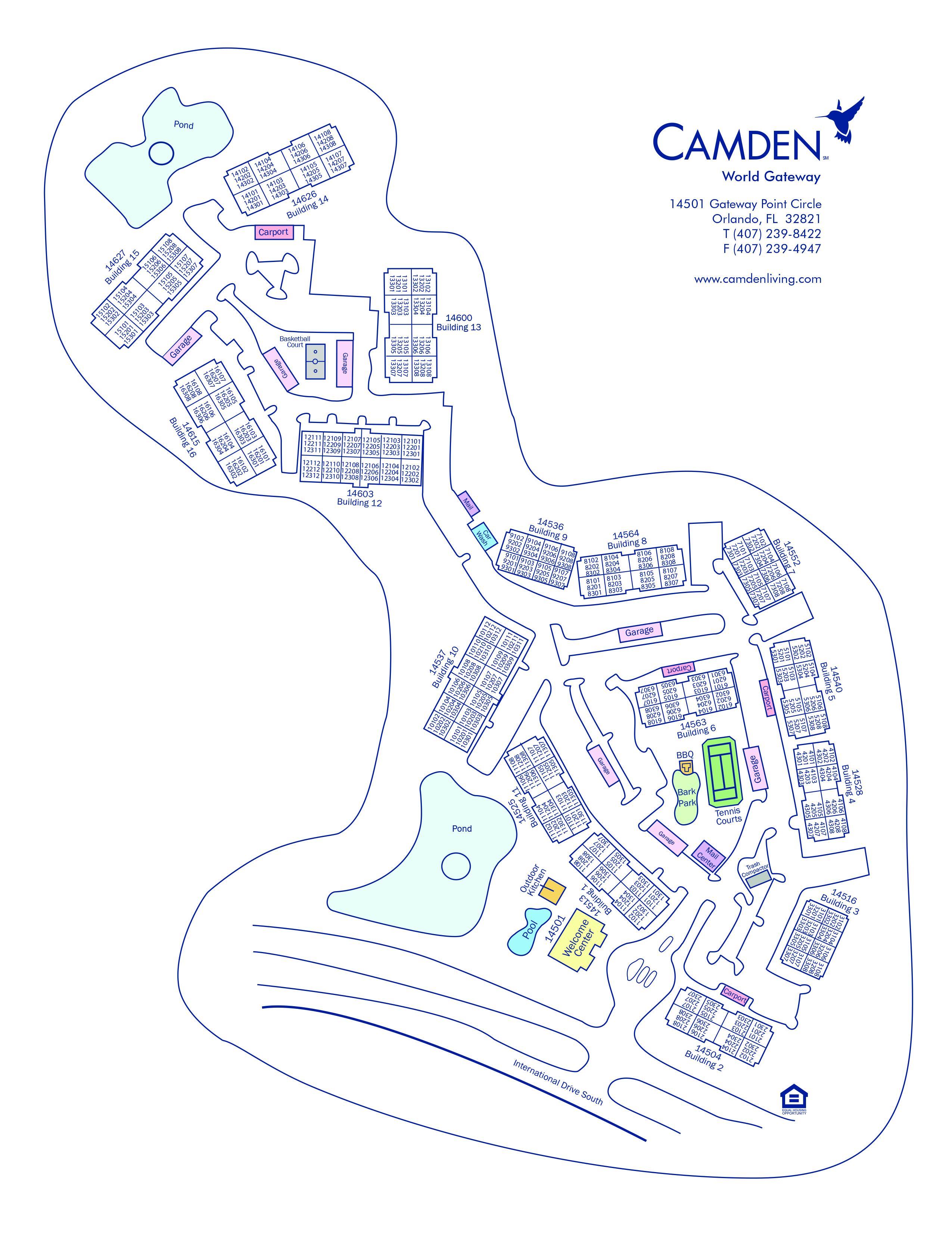 Apartments for Rent in Orlando, FL - Camden World Gateway