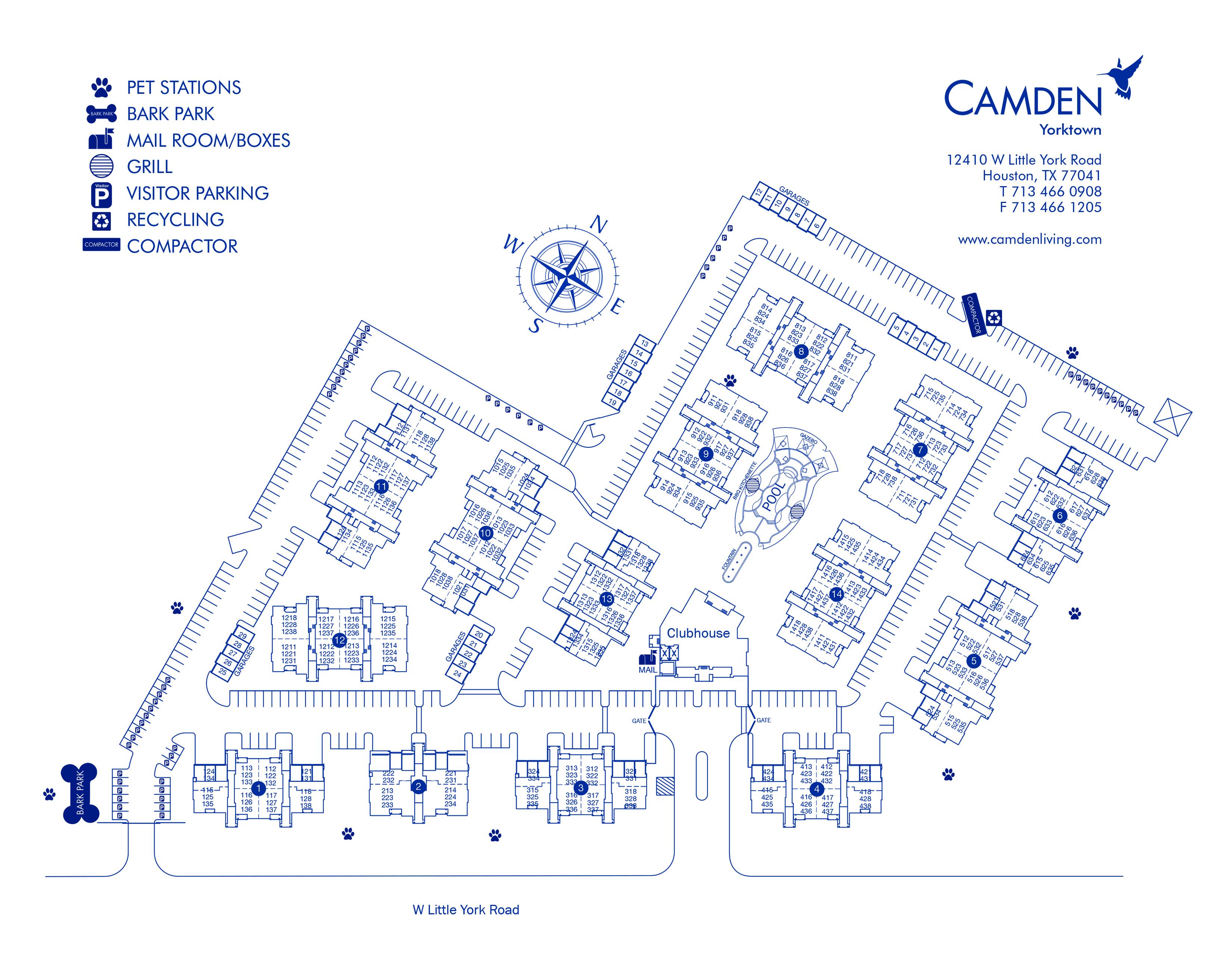 Map Of Yorktown Tx.Camden Yorktown