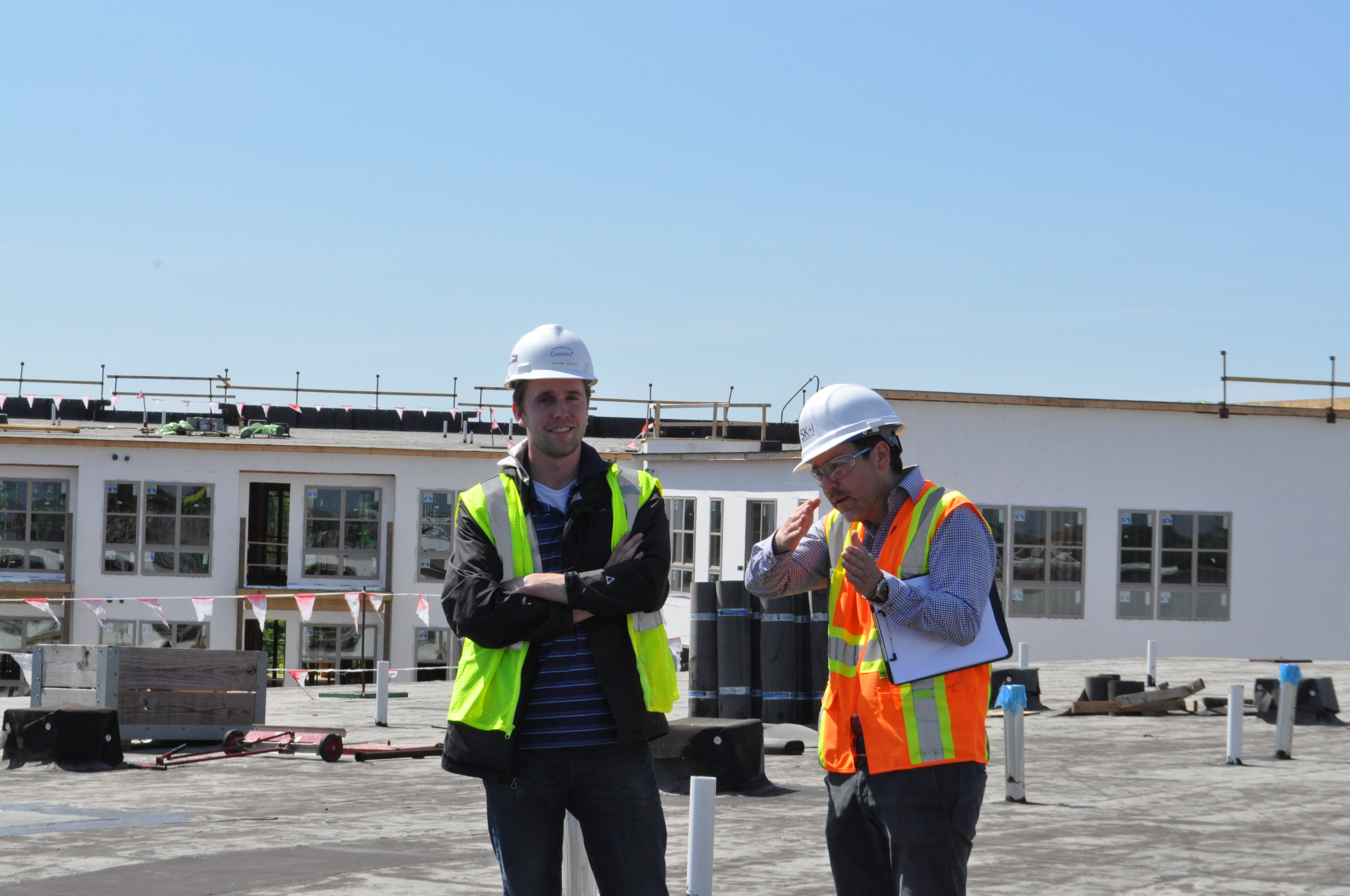 Camden's construction and development team are passionate about LEED. Image by Duane Canter.