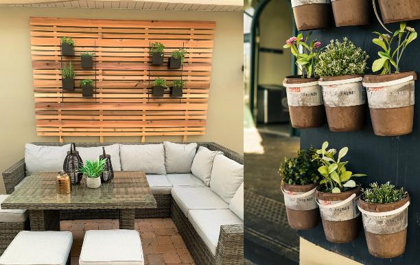 easy apartment herb garden patio