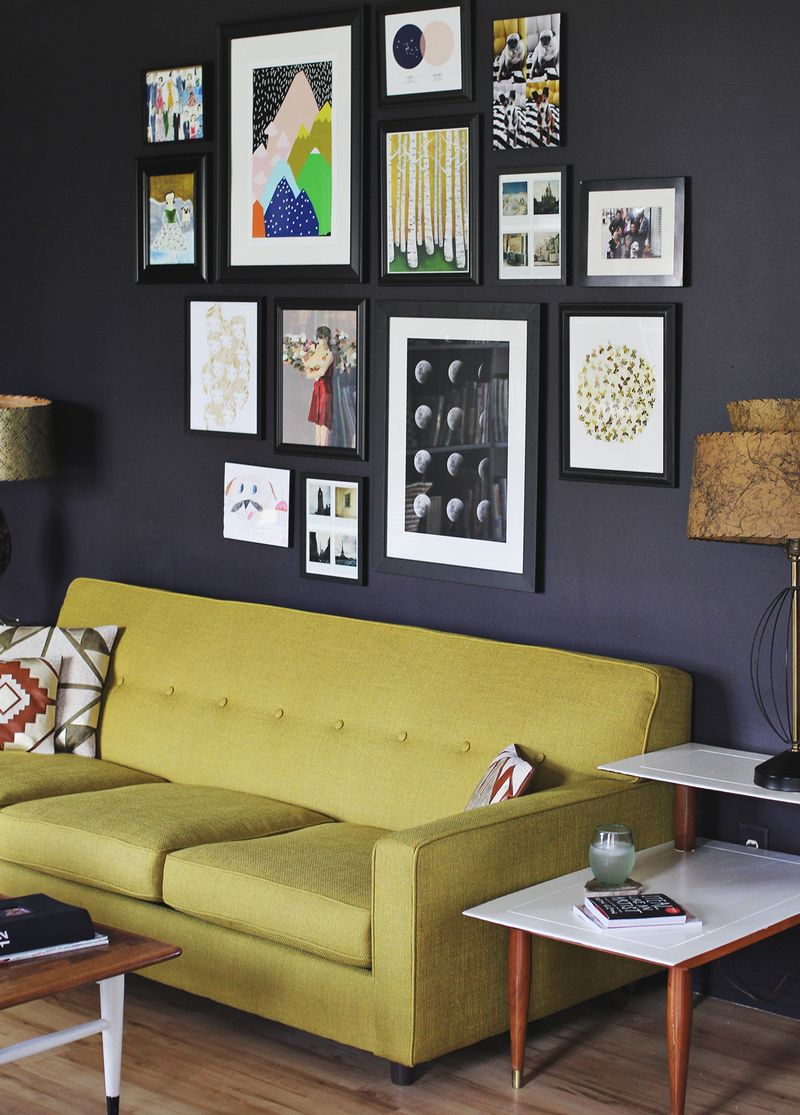 How to Create the Perfect Gallery Wall in Your Apartment ...