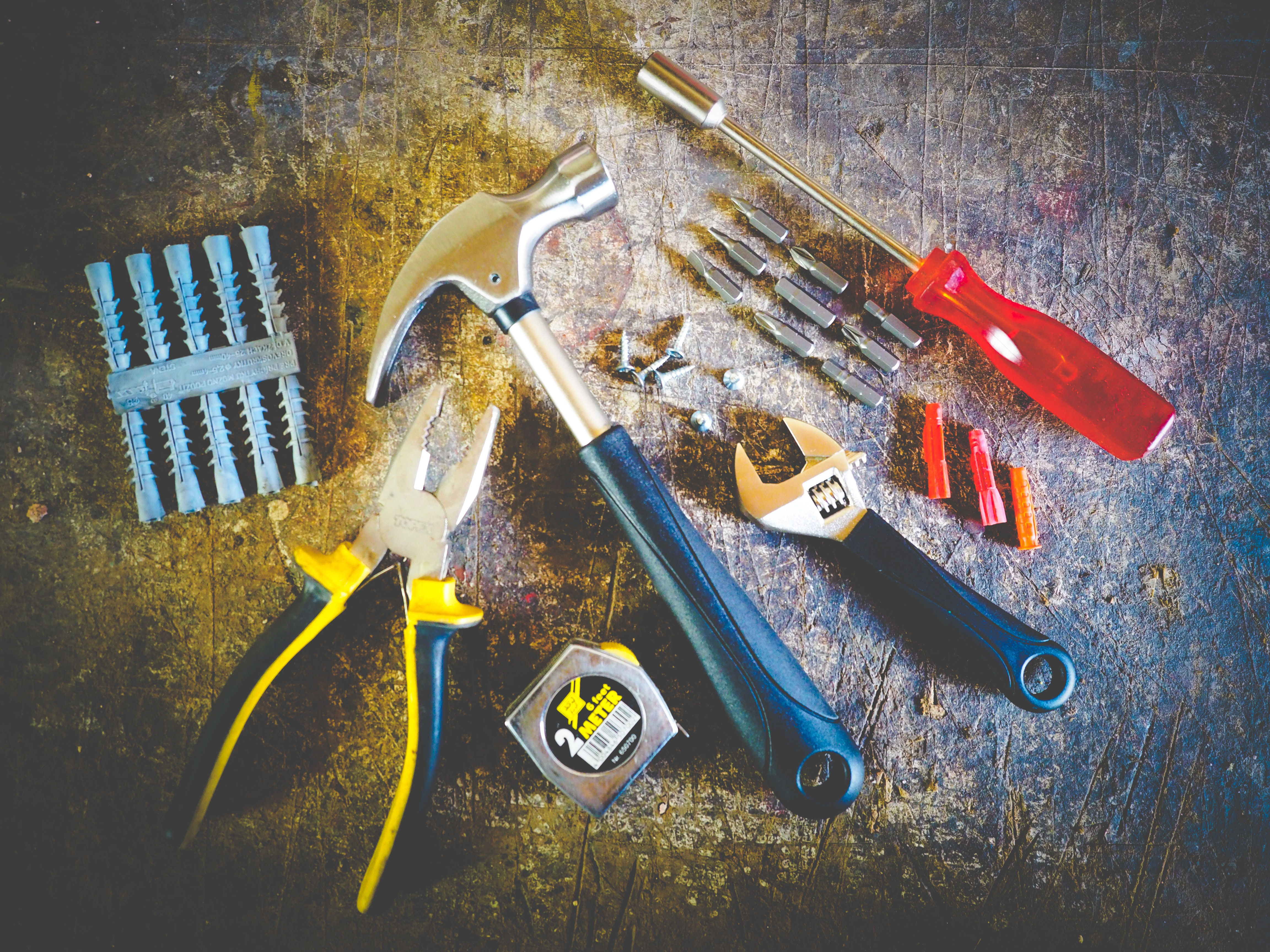 first-toolbox-hammer-hand-tools-measuring-tape