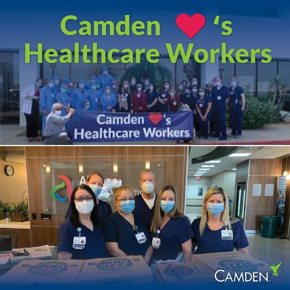 Camden Cares Healthcare Heroes