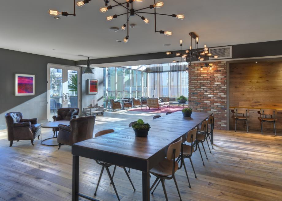 The Industrial Style of The Camden in Hollywood, CA