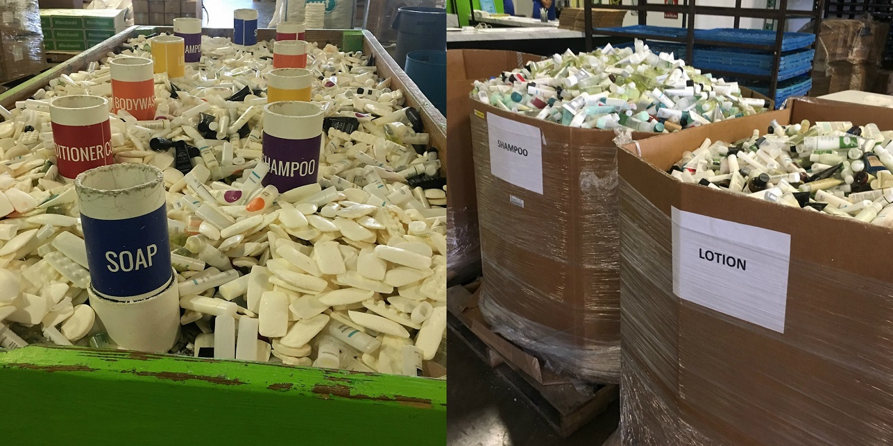 Camden sorted over 100,000 items when volunteering!