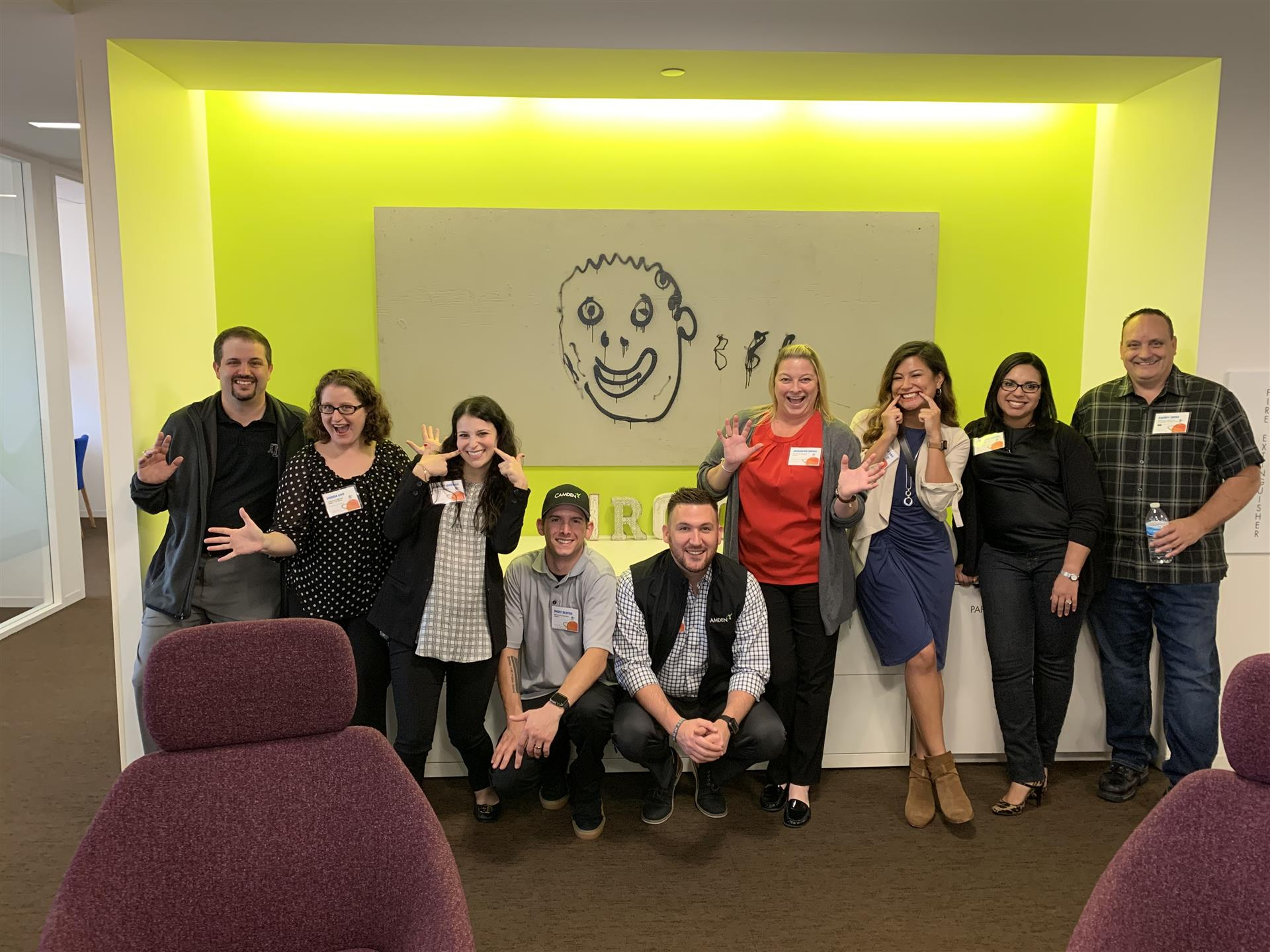 Camden Launch training breakout group