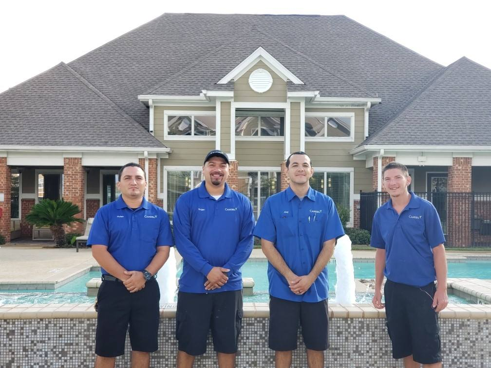 Camden South Bay's Maintenance Team