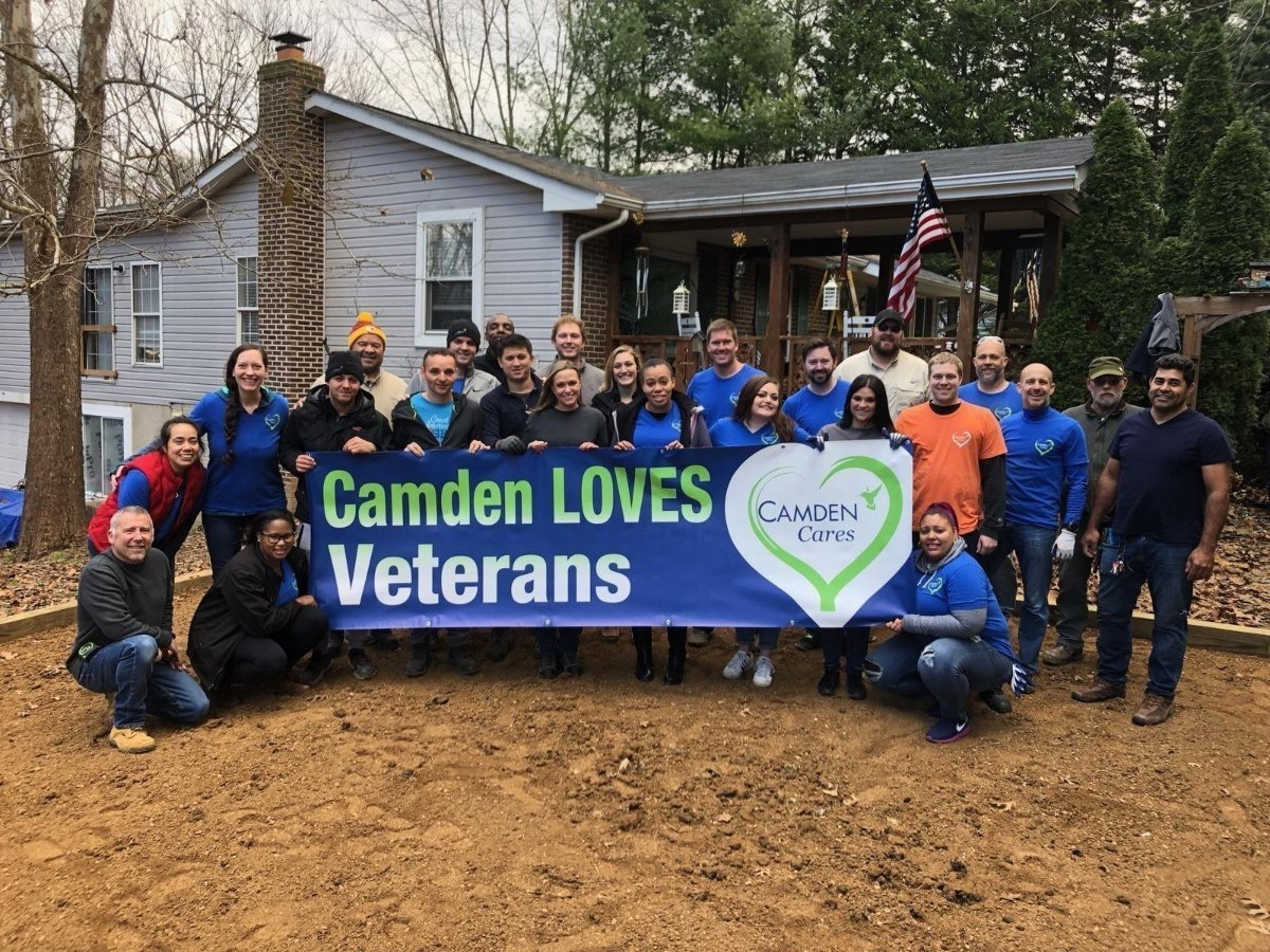 Mid-Atlantic Camden Cares Team