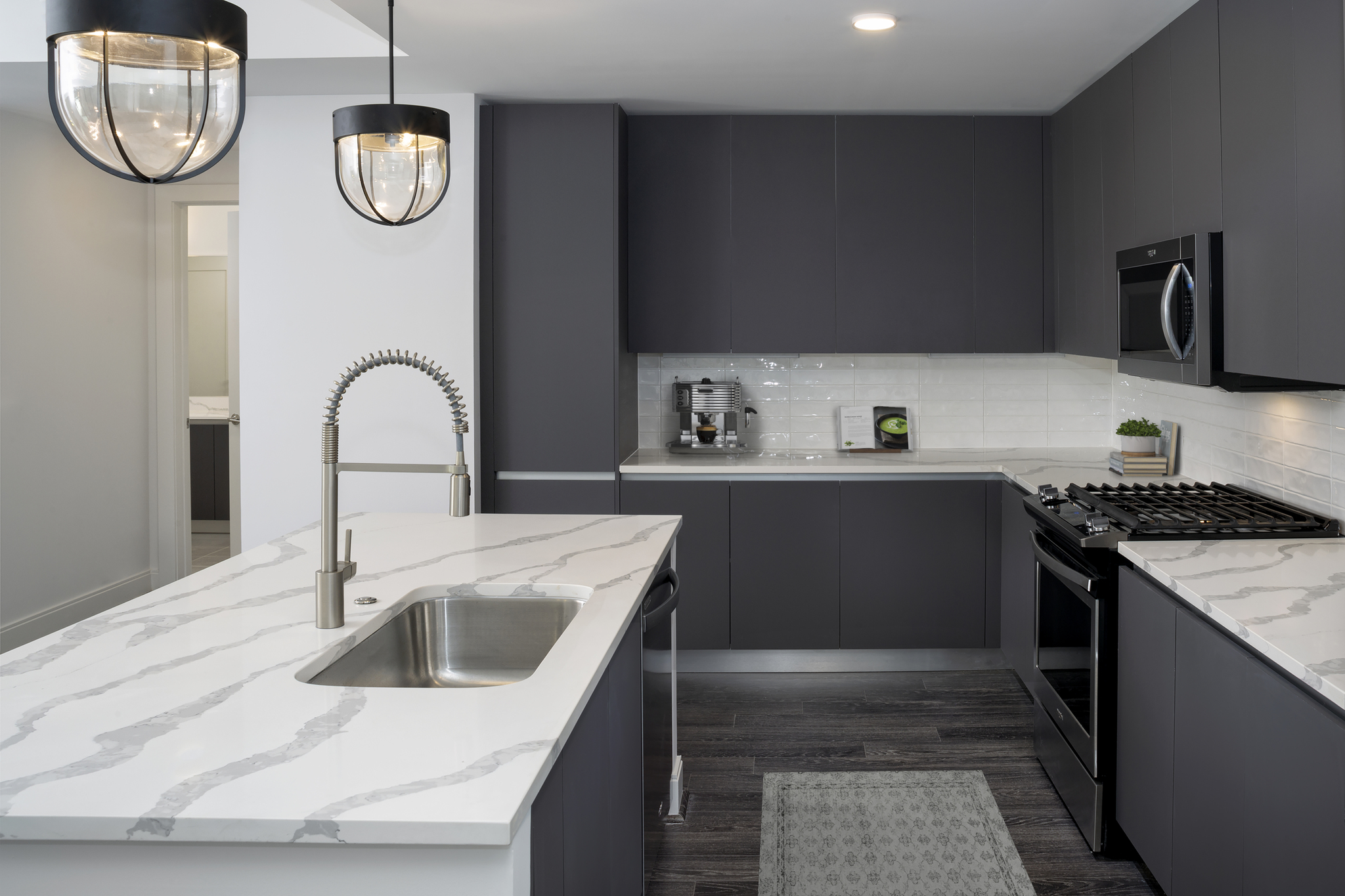 Modern Gray Finishes at Camden Buckhead