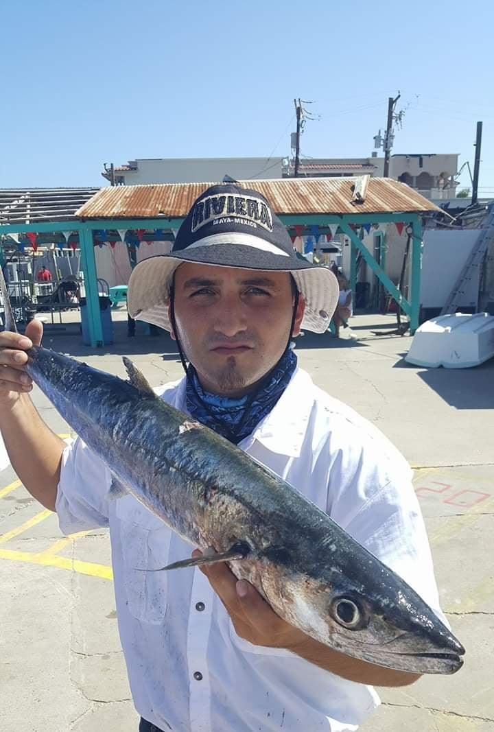 Myles fishing at Port Aransas