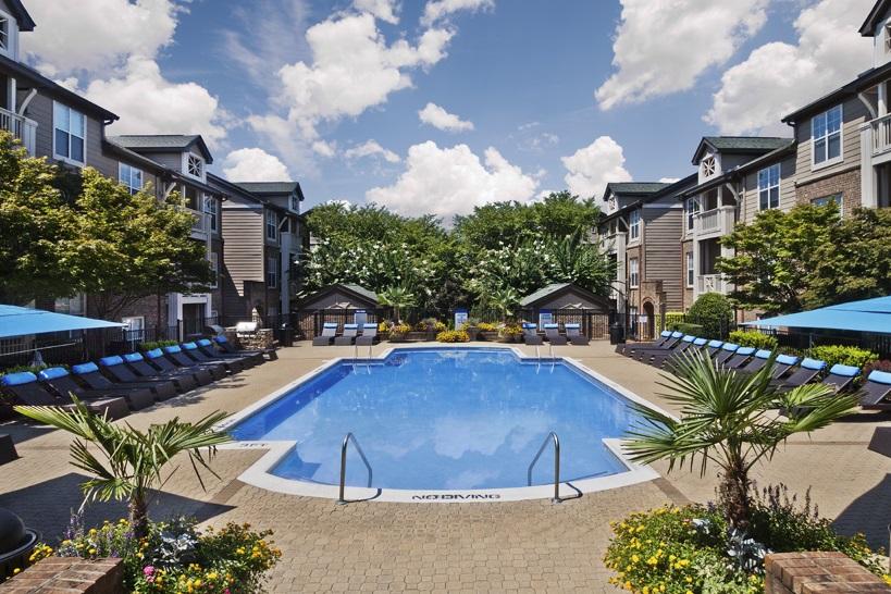 Ballantyne Pool Area