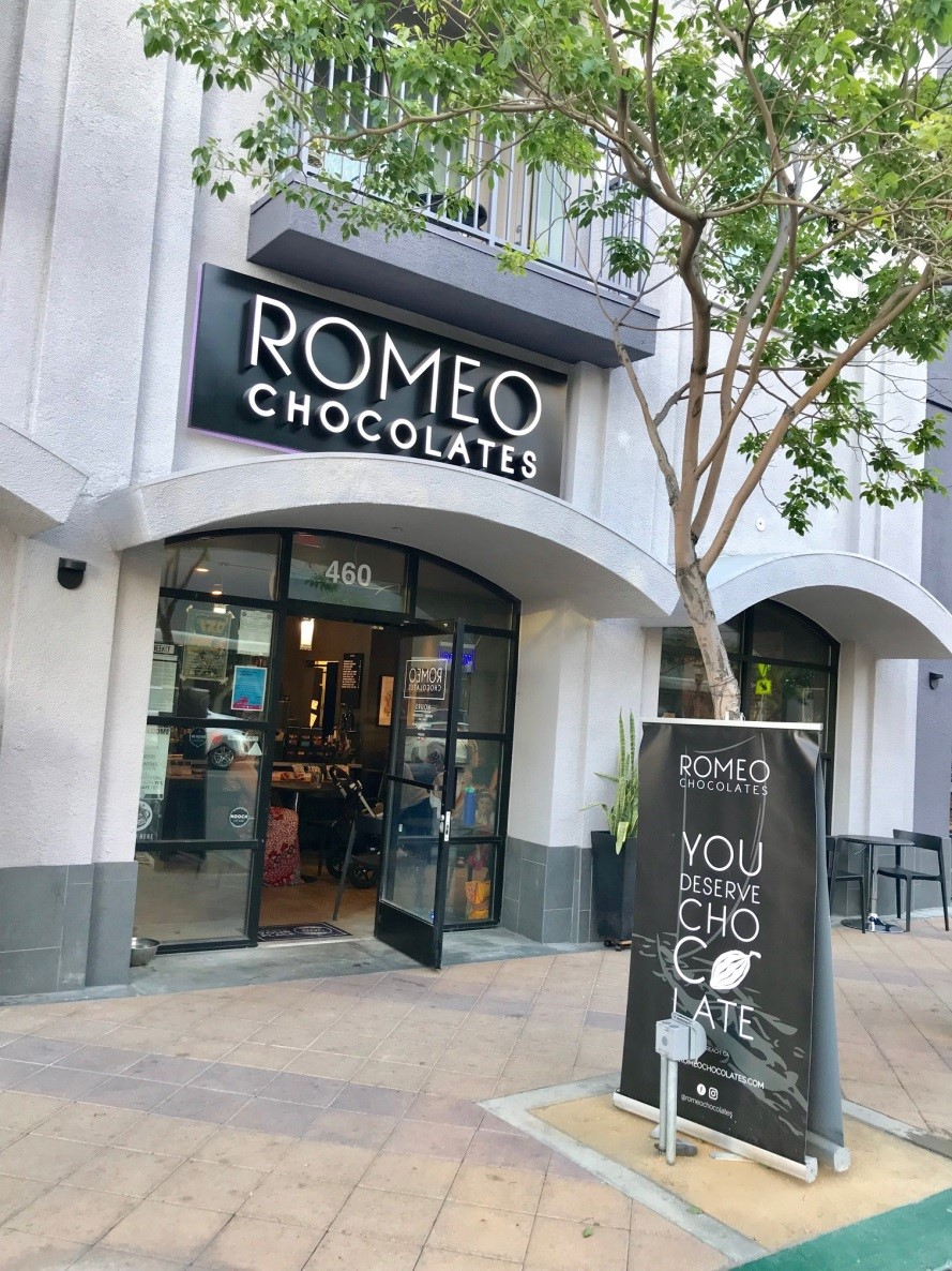 Romeo Chocolates is an experience like no other.  You'll find gourmet chocolates in the form of artisan bars and truffles beautifully displayed.