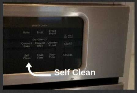 Self Cleaning Option is Best for Cleaning Ovens