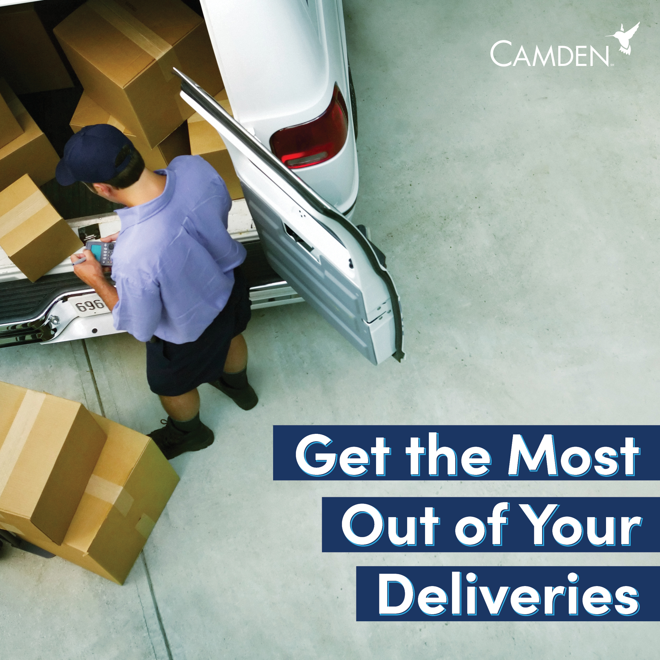 Get the most out of your package deliveries - Read about how on Simply Camden