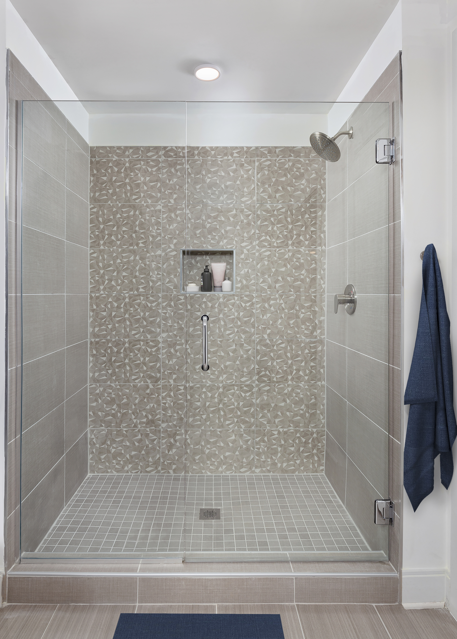 Stand Alone Shower at Camden Buckhead