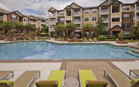 Camden Asbury Village Apartments in Raleigh, North Carolina