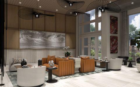 Leasing Center at Camden Atlantic Apartments in Plantation, FL