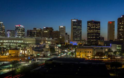 Camden Copper Square apartments in Downtown Phoenix, Arizona