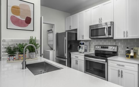 New Contemporary Kitchen Camden Dilworth Apartments