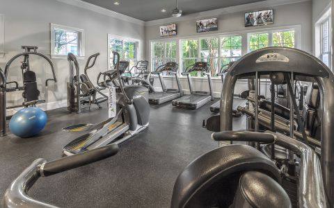 Fitness Center at Camden Fallsgrove in Maryland