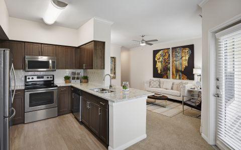Newly Renovated Interiors at Camden Farmers Market Apartments in Dallas, Texas