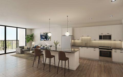 Camden Hillcrest apartments in San Diego