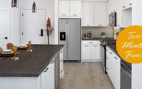Camden Hillcrest Apartments Kitchen in San Diego, California