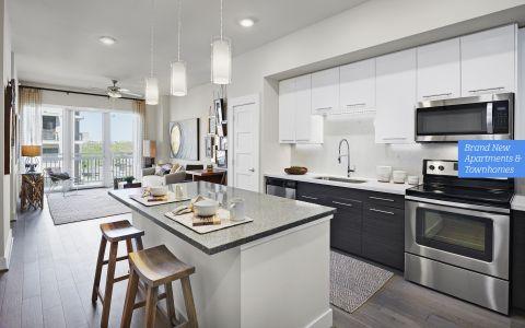 Camden McGowen Station Apartments Header Photo in Midtown Houston, Texas