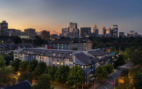 Camden Midtown Atlanta Apartments in Downtown Atlanta Georgia