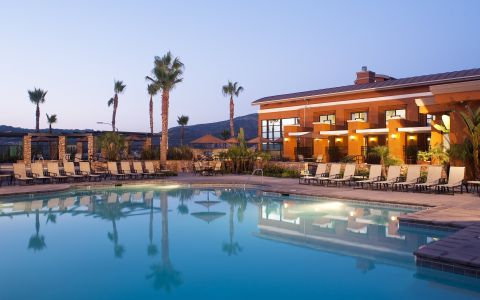 Resort-Style Pool at Camden Old Creek Apartments in San Marcos, CA