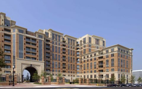 Camden Potomac Yard Apartments in Arlington Virginia near Washington DC