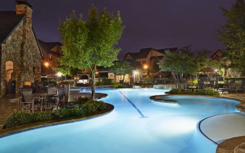 Swimming Pool at Camden Riverwalk Apartments in Grapevine, Texas
