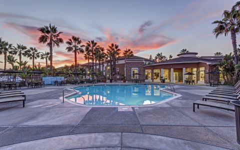 Camden Sierra at Otay Ranch apartments in Chula Vista, California.