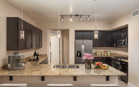 Penthouse Kitchen at Camden Sotelo Apartments in Tempe, Arizona
