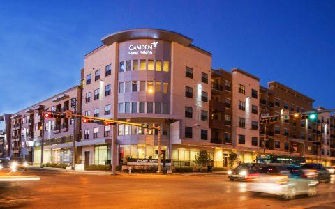 Camden Lamar Heights apartments in Austin, TX